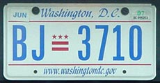2000 plate no. BJ-3710 with Jun. 2007 stickers