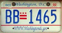 2001 optional plate no. BB-1465