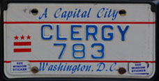 1984 base Clergy plate no. 783