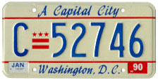 1984 base commercial plate no. C-52746