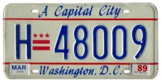 1984 base hire (taxi) plate no. H-48009