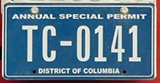 Recent Annual Special Permit no. TC-0141