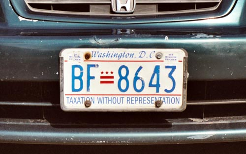 Private passenger registration plate no. BF-8643