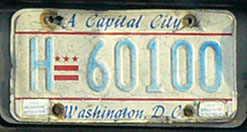 1984 Hire (Taxi) plate no. H-60100