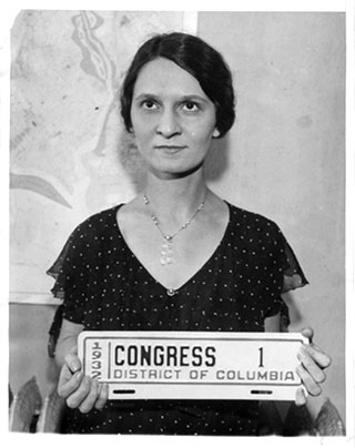 Associated Press photo of the 1932 Congressional Permit