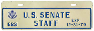 1979 U.S. Senate Staff permit no. 683