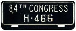 84th Congress (House of Rep.) permit no. H-466