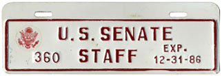 1986 U.S. Senate Staff permit no. 360