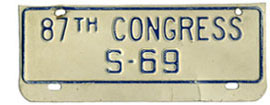 87th Congress (Senate) permit no. S-69