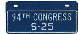 94th Congress (Senate) permit no. S-25