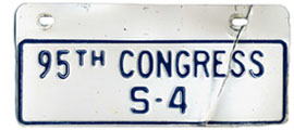 95th Congress (Senate) permit no. S-4