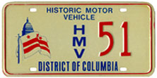 Historic Motor Vehicle plate no. 51