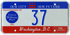 1999 Mayoral Inauguration plate no. 37