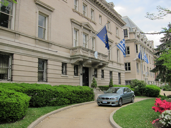 Embassy of Greece at 2217 Mass. Ave., NW