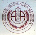 Morehouse College Alumni Assn. plate logo detail
