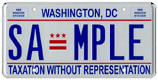 2000 base sample plate, later flat style with medium blue lettering and sans serif font