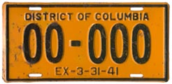 1940 sample plate (exp. 3-31-41)