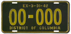 1941 sample plate (exp. 3-31-42)