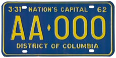 1961 sample plate (exp. 3-31-62)