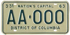 1962 sample plate (exp. 3-31-63)