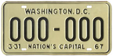 1966 base sample plate (exp. 3-31-67)