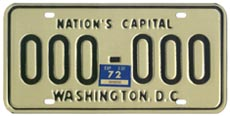 1968 base sample plate validated for 1971 (exp. 3-31-72)