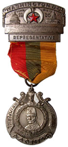 1935 Shrine Convention badge