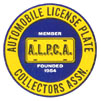 Auto License Plate Collectors Assn. seal