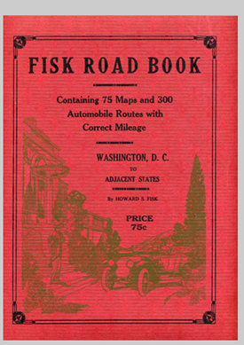 cover of the Fisk Road Book of 1914