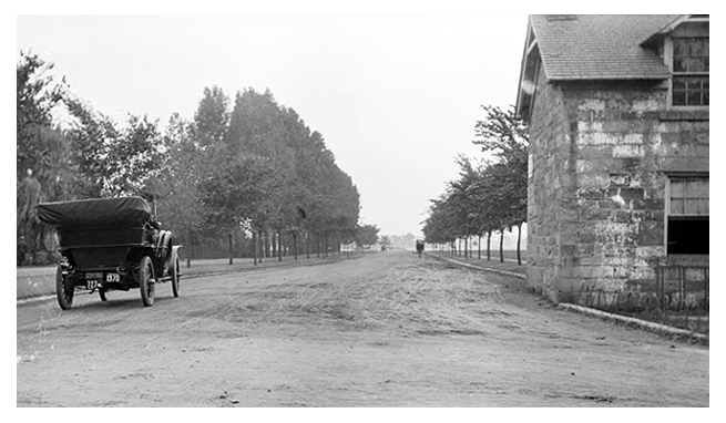 Sept. 1909 view of 17th St. in Washington