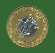 Delaware Memorial Bridge toll token